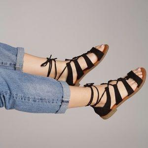 Shoes - Ankle straps gladiators